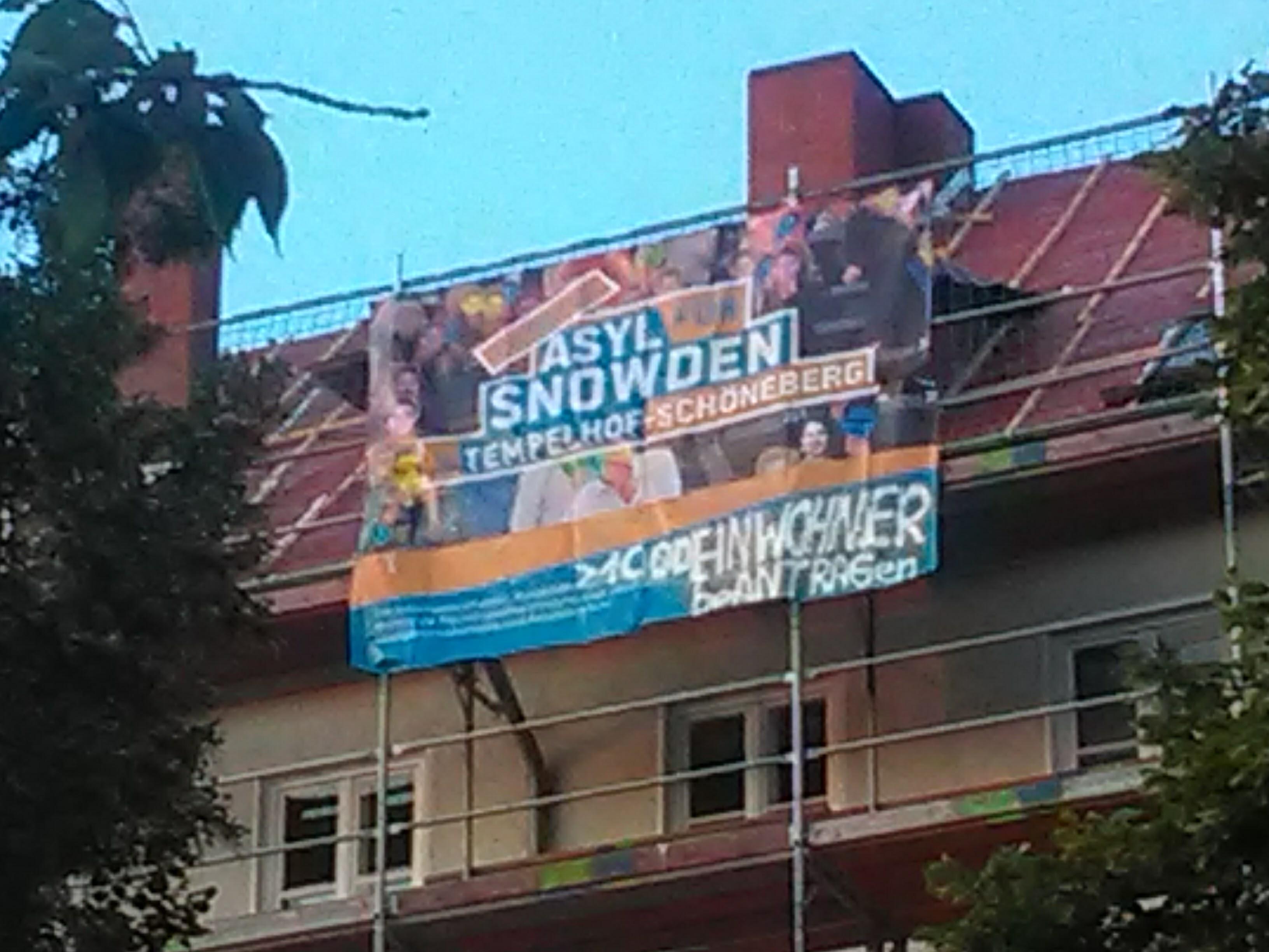 sicheres Asyl fuer Eduart Snowden in Tempelhof-Schoeneberg